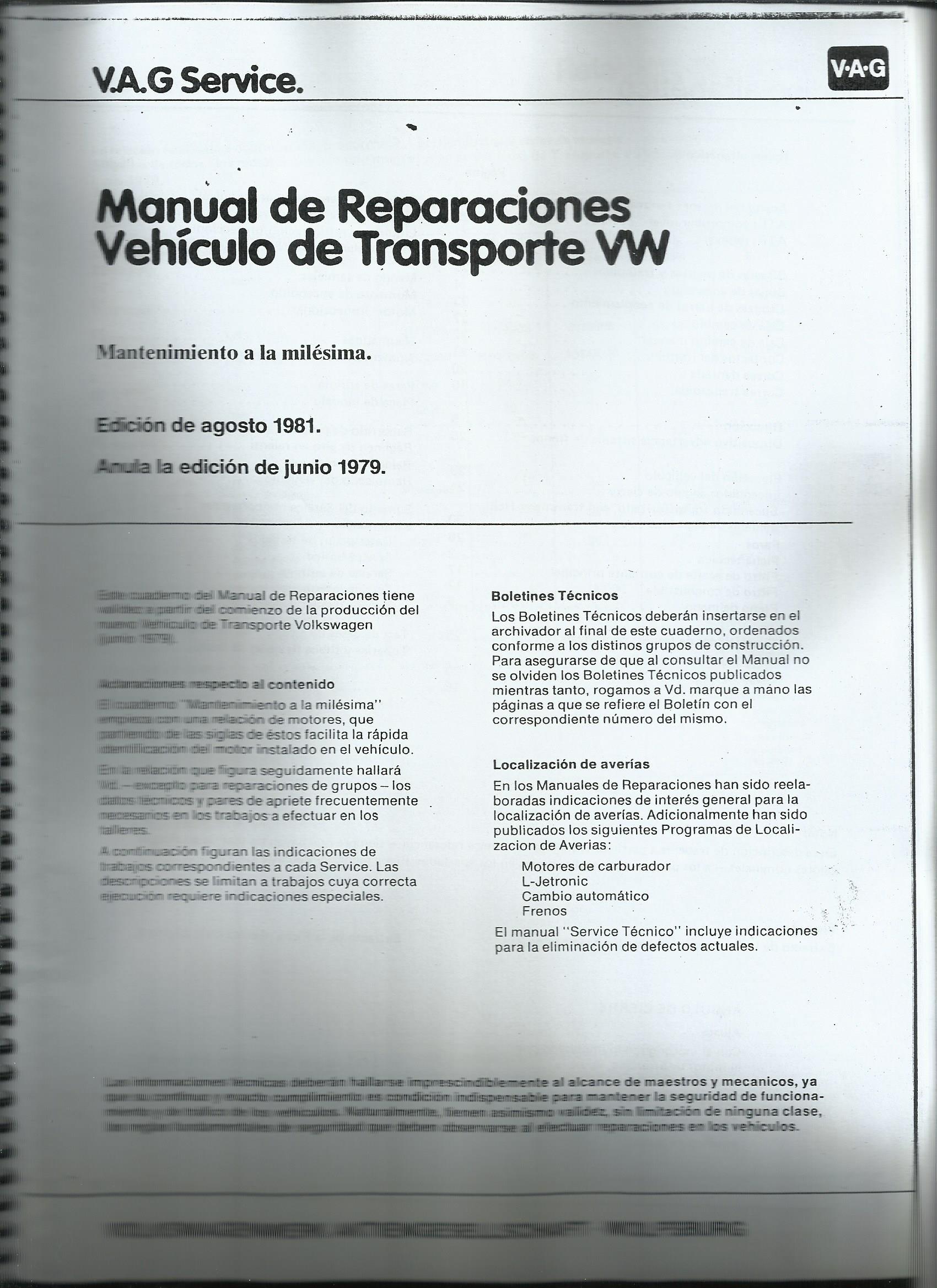 MANUAL DE REPARACIONES T3 (a la milesima)