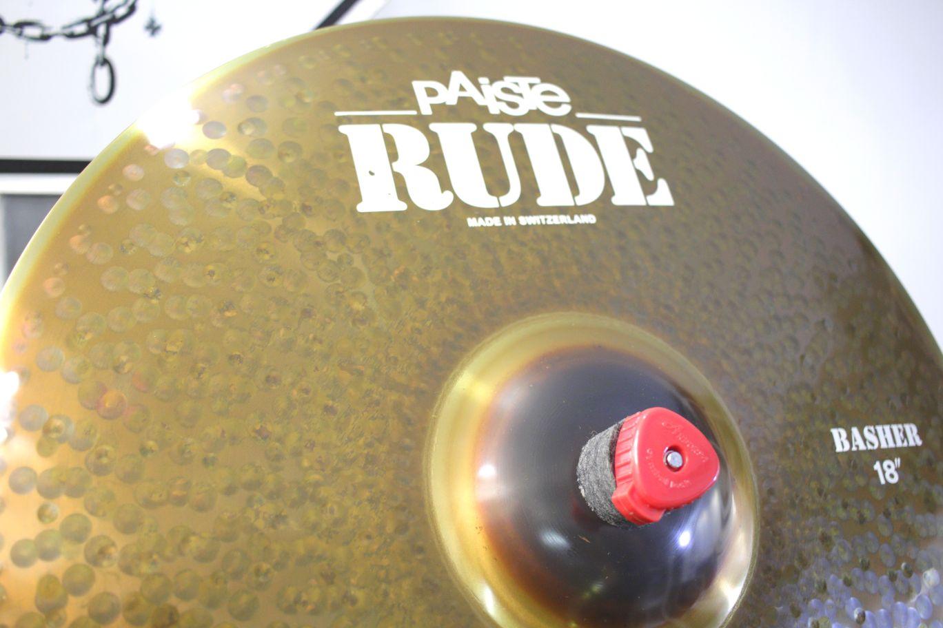 BASHER 18 RUDE PAISTE