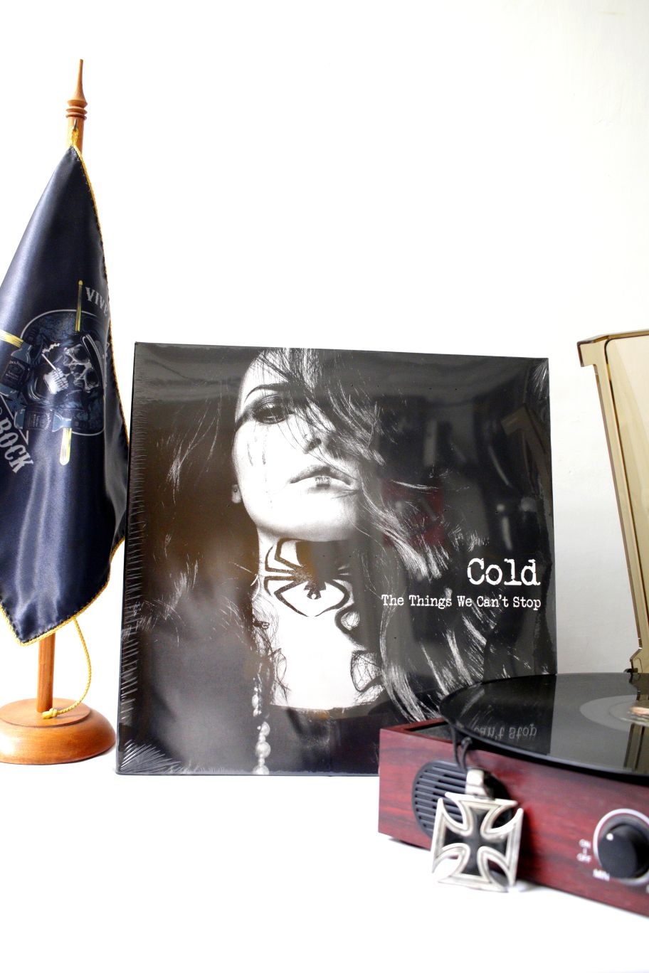 VINILO COLD THE THING WHE CAN'T STOP