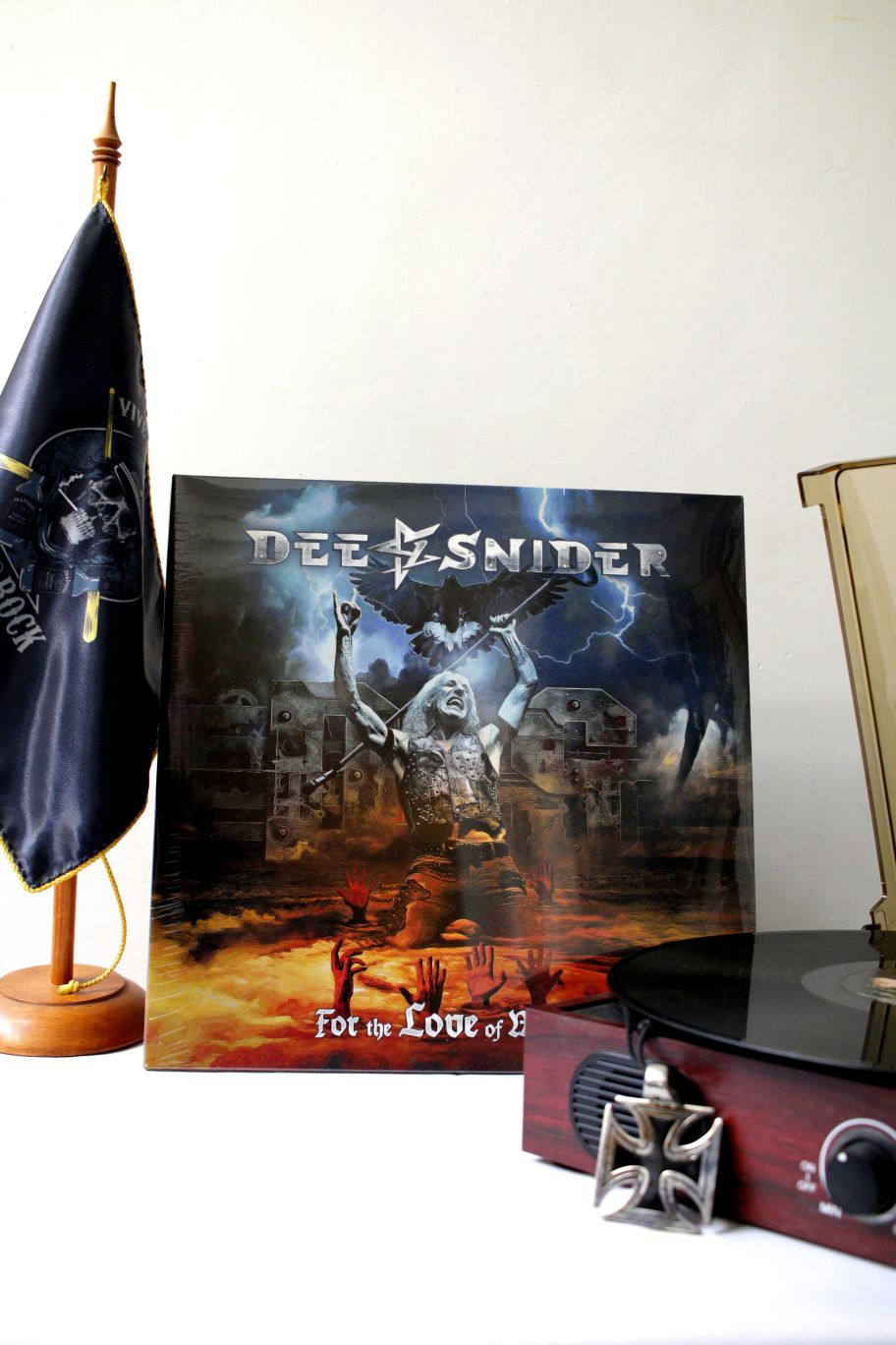 VINILO DEE SNIDER FOR THE LOVE OF METAL