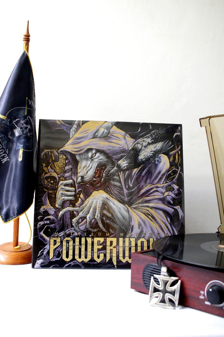 VINILO POWERWOLF METALLUM NOSTRUM
