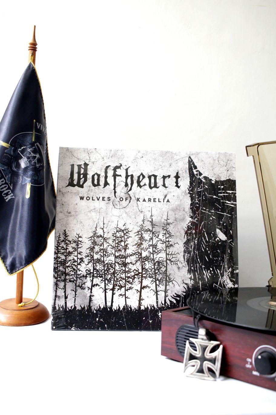 VINILO WOLFHEART WOLVES OF KARELIA