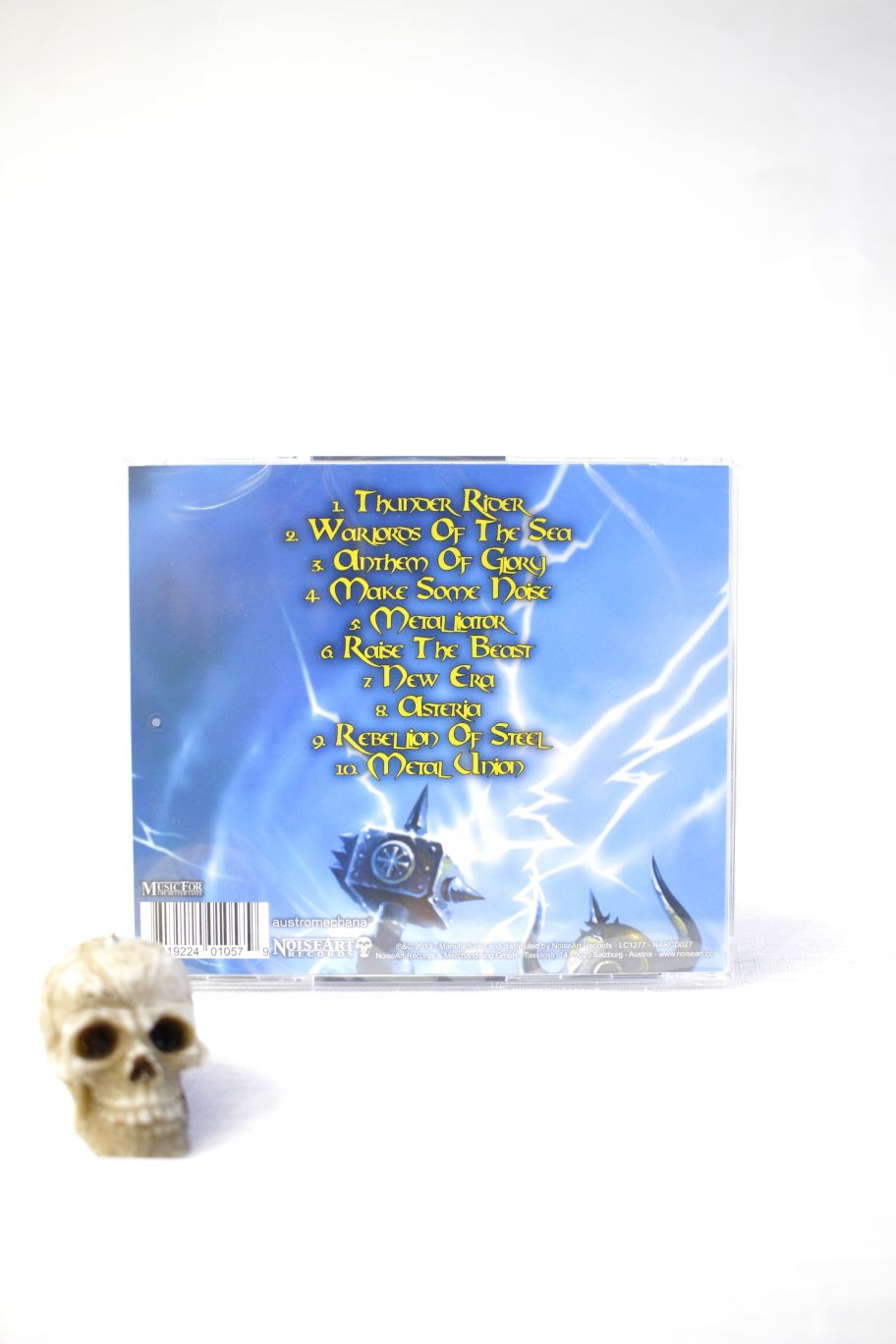 CD MAJESTY THUNDER RIDER
