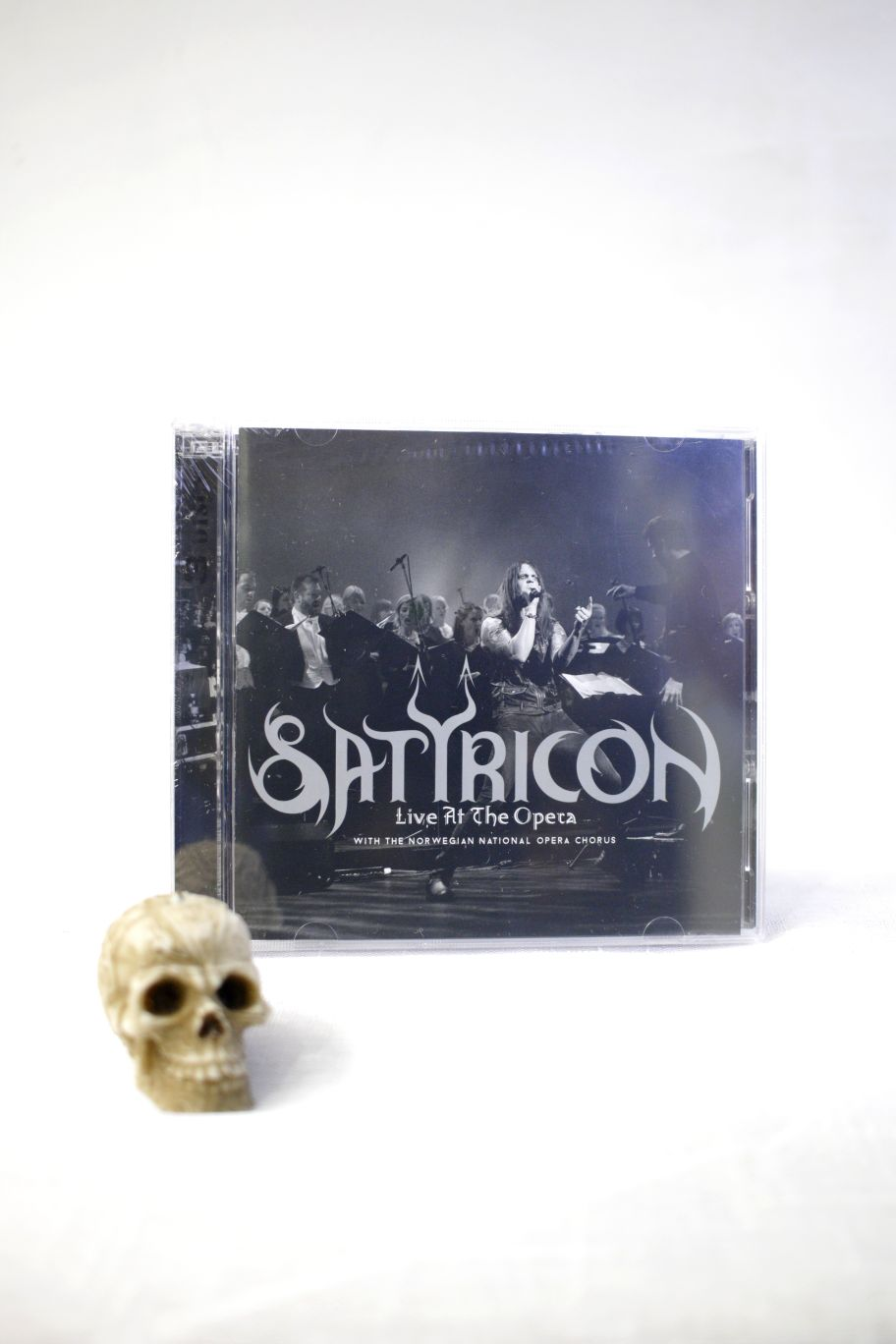 CD SATYRICON LIVE AT THE OPERA