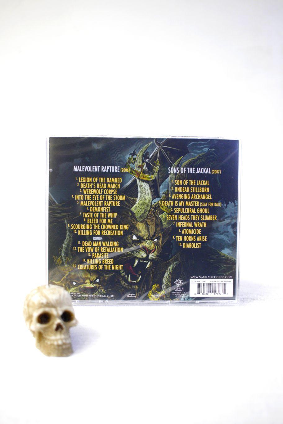 CD LEGION OF THE DAMNED MALEVOLENT RAPTURE SONS OF THE JACKAL