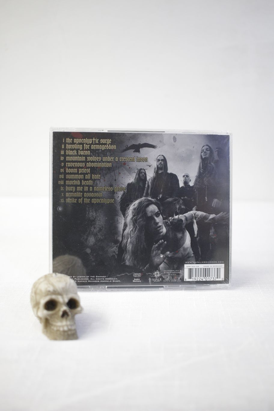 CD LEGION OF THE DAMNED RAVENOUS PLAGUE