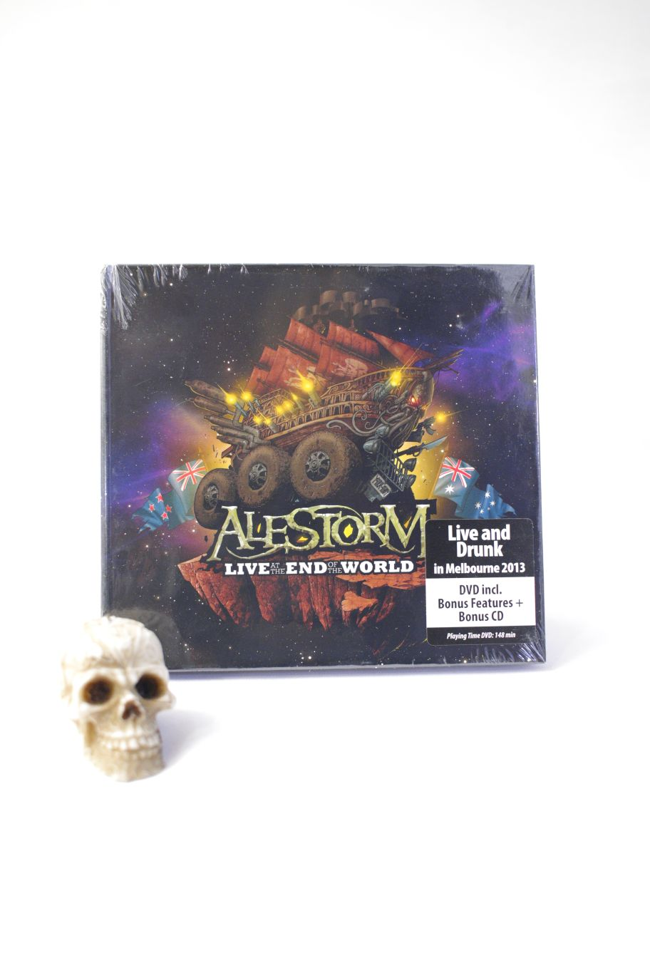CD ALESTORM LIVE AT THE END OF THE WORLD LTD CD+DVD