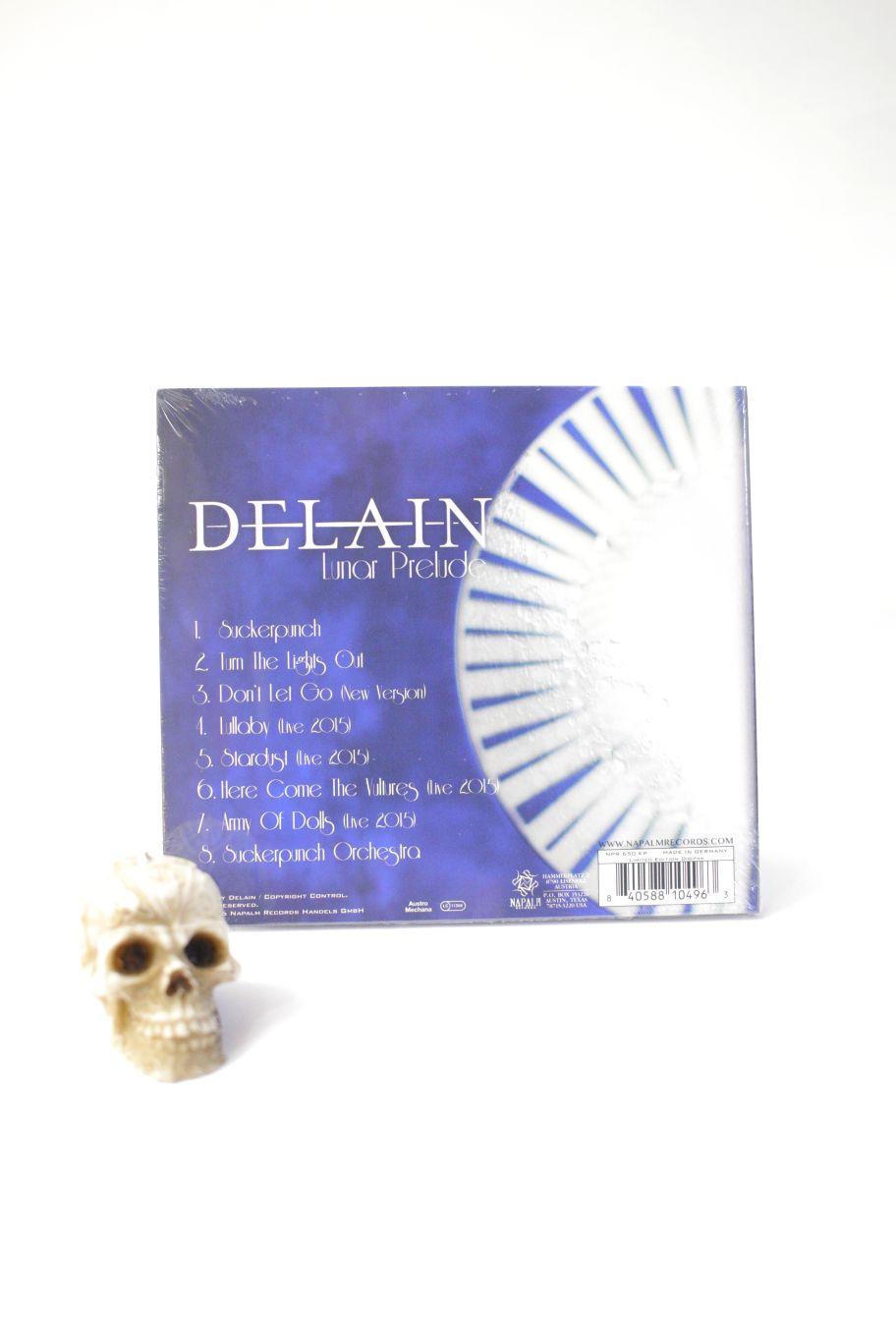 CD DELAIN LUNAR PRELUDE