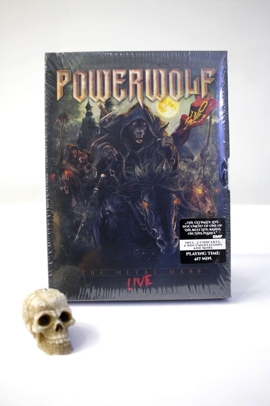 CD POWERWOLF THE METAL MASS + DVD