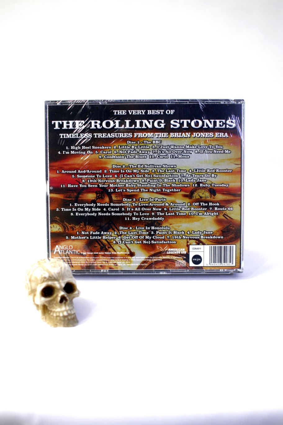 CD THE ROLLING STONES THE VERY BEST OF ROLLING STONES BROADCASTING LIVE