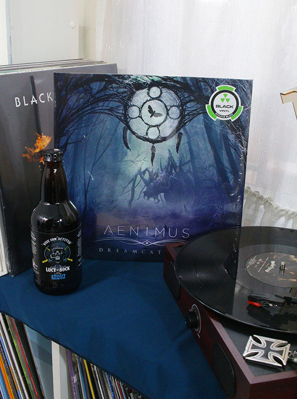 AENIMUS DREAMCATCHER BLACK VINYL