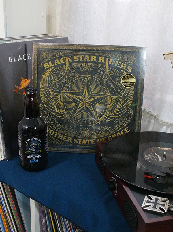 VINILO BLACK STARS RIDERS ANOTHER STATE OF GRACE BLACK VINYL