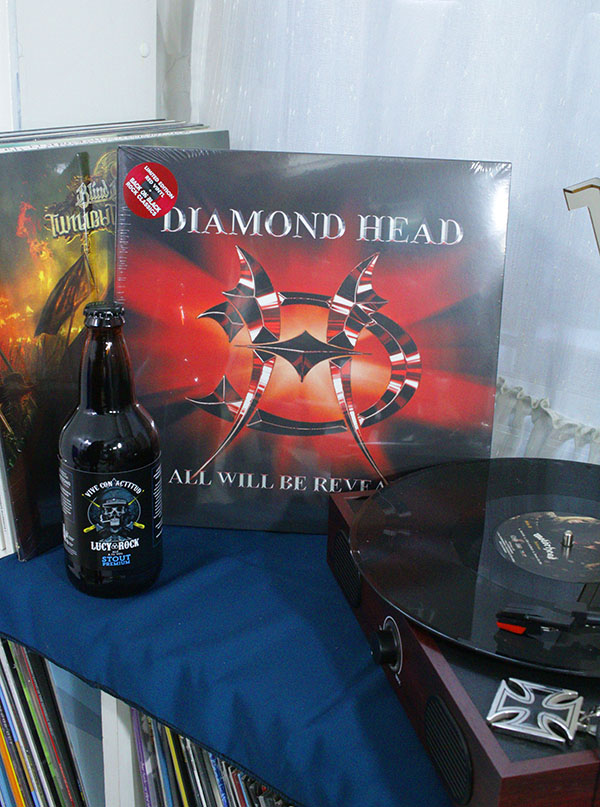 VINILO DIAMOND HEAD ALL WILL BE REVEALED