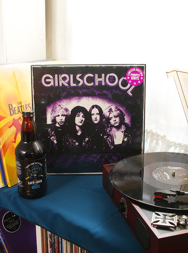 VINILO GIRLSCHOOL GLASGOW 1982