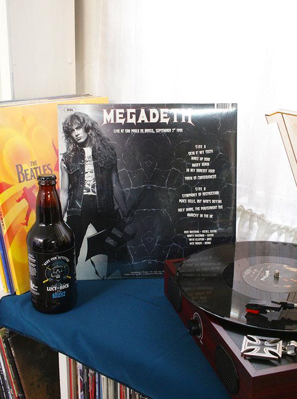 VINILO MEGADETH LIVE AT SAN PAULO DO BRASIL