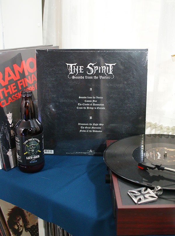 VINILO THE SPIRIT SOUNDS FROM THE VORTEX