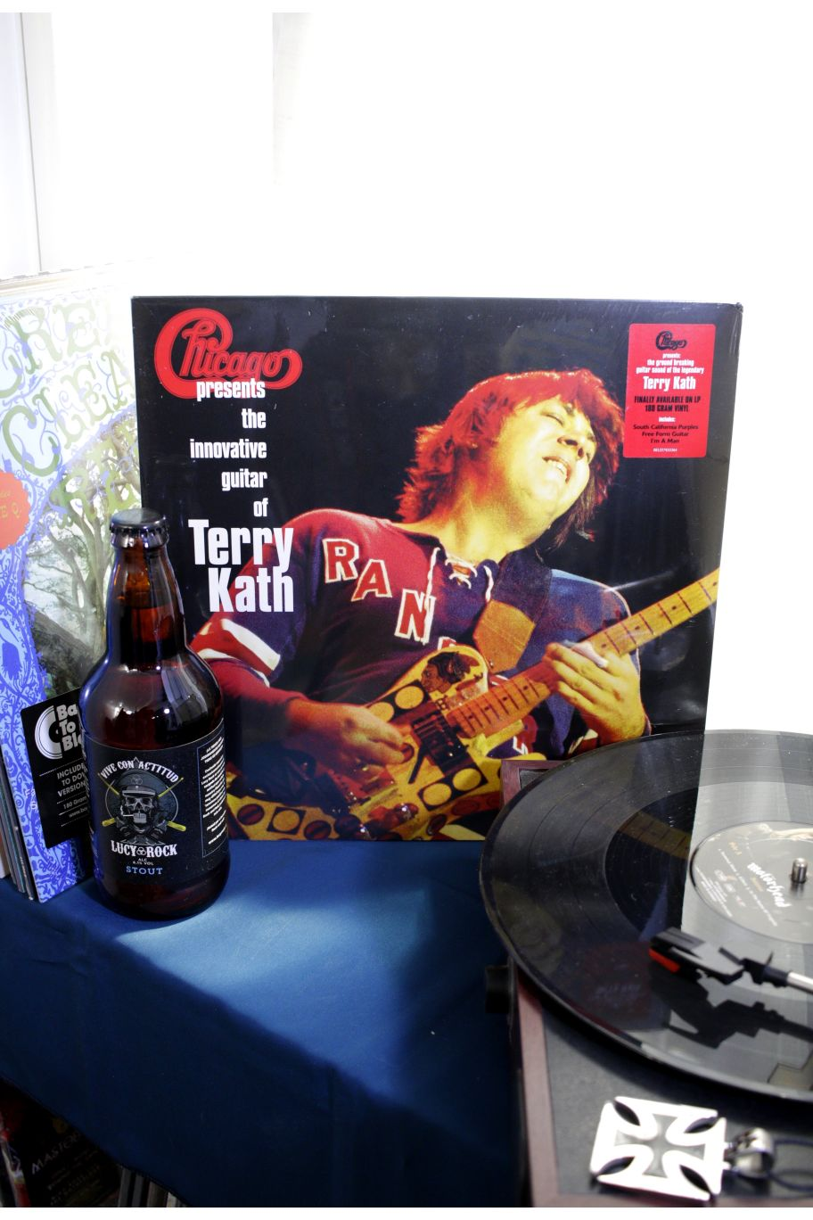 VINILO CHICAGO - CHICAGO PRESENTS INNOVATIVE GUITAR OF TERRY