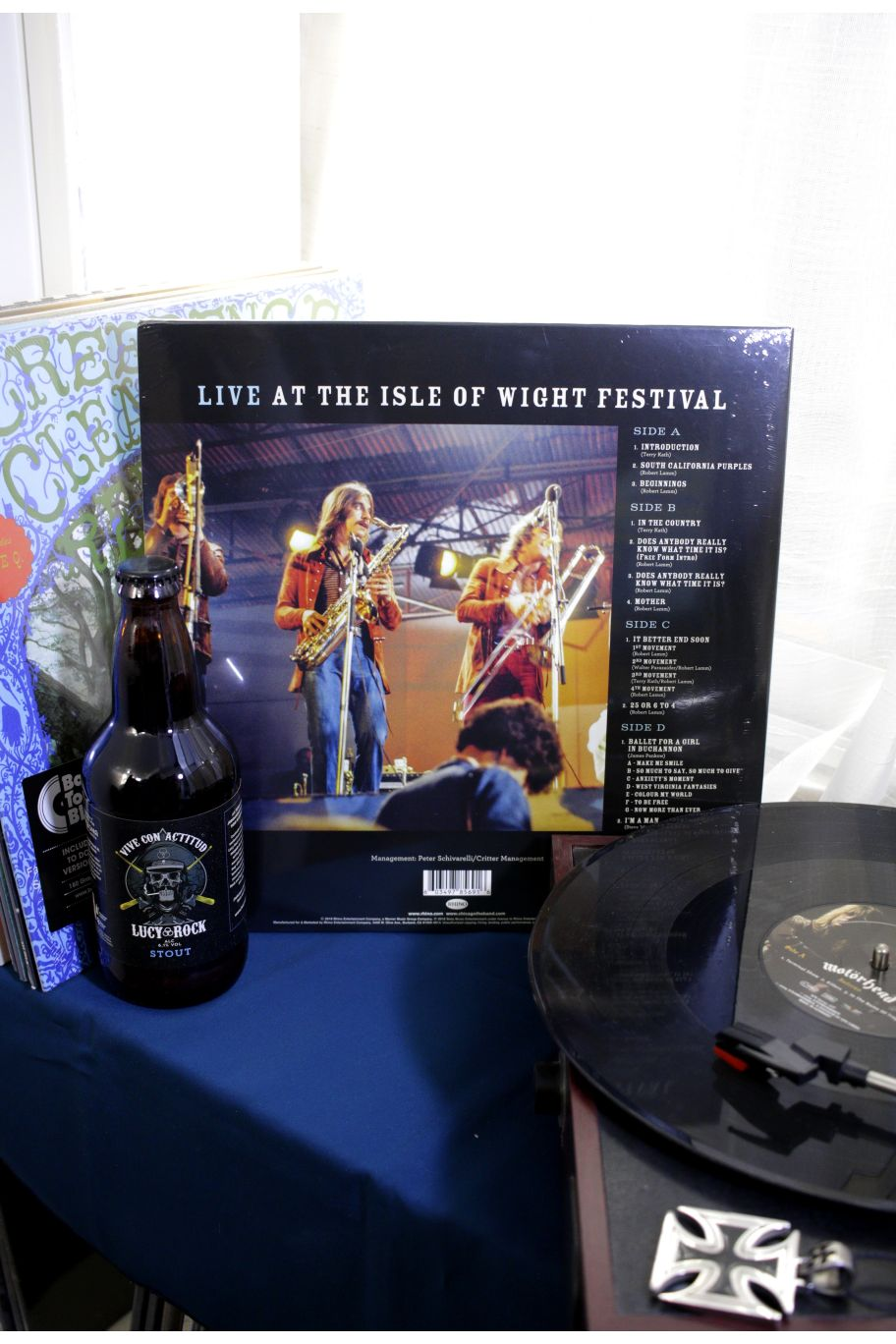 VINILO CHICAGO LIVE AT THE ISLE OF WIGHT FESTIVAL
