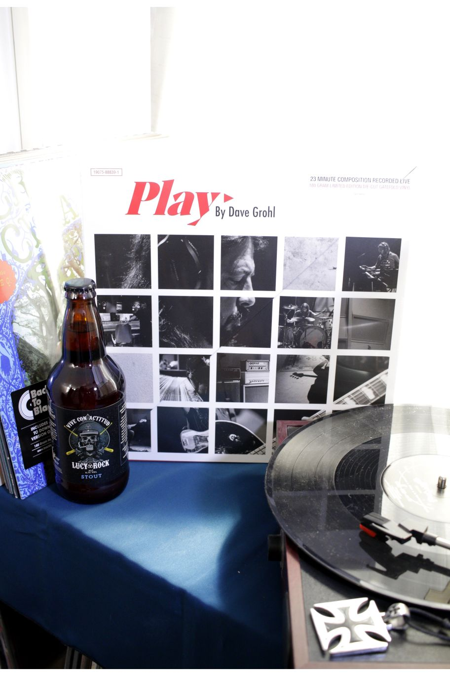 VINILO DAVE GROHL PLAY