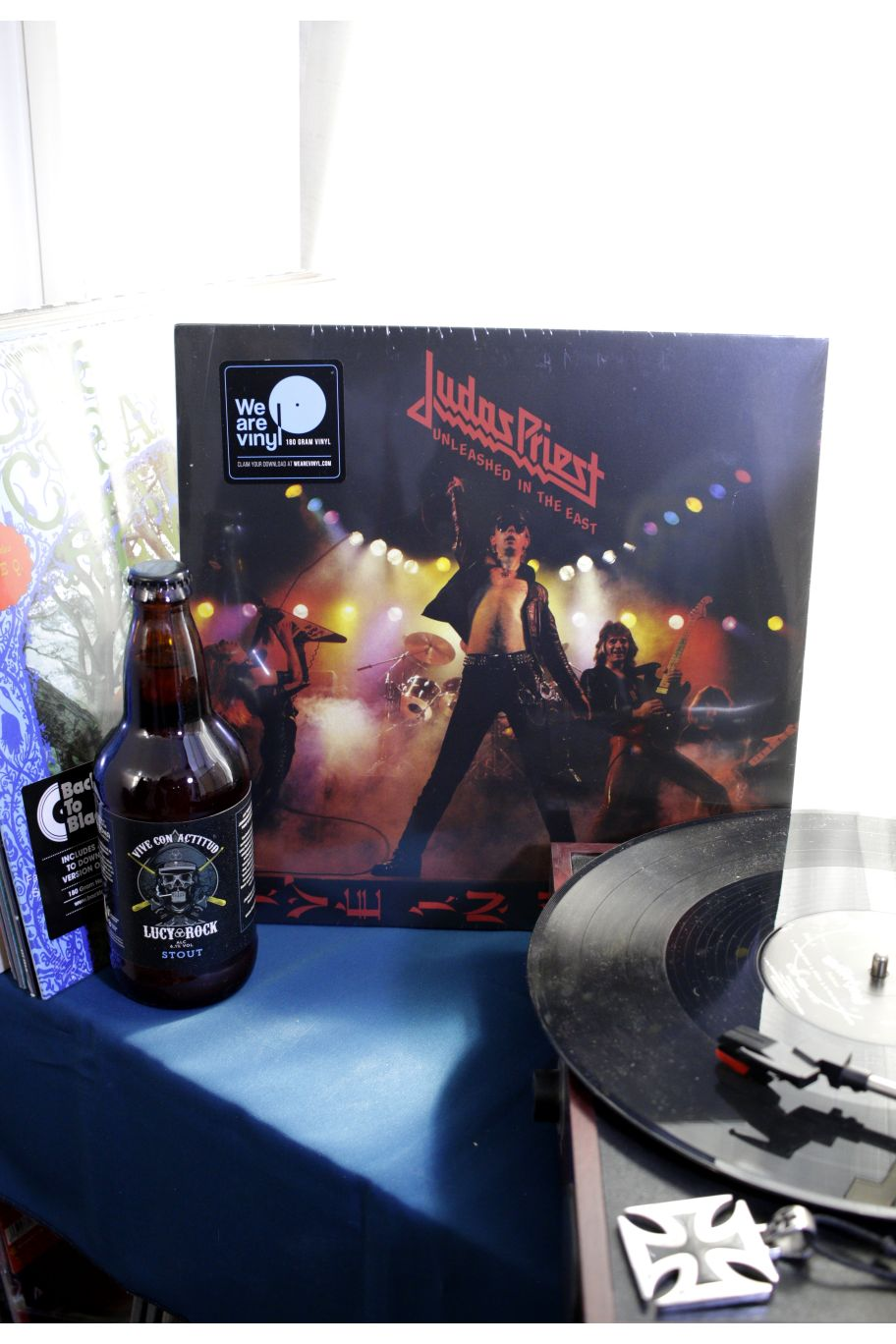 VINILO JUDAS PRIEST UNLEASHED IN THE EAST LIVE IN JAPAN