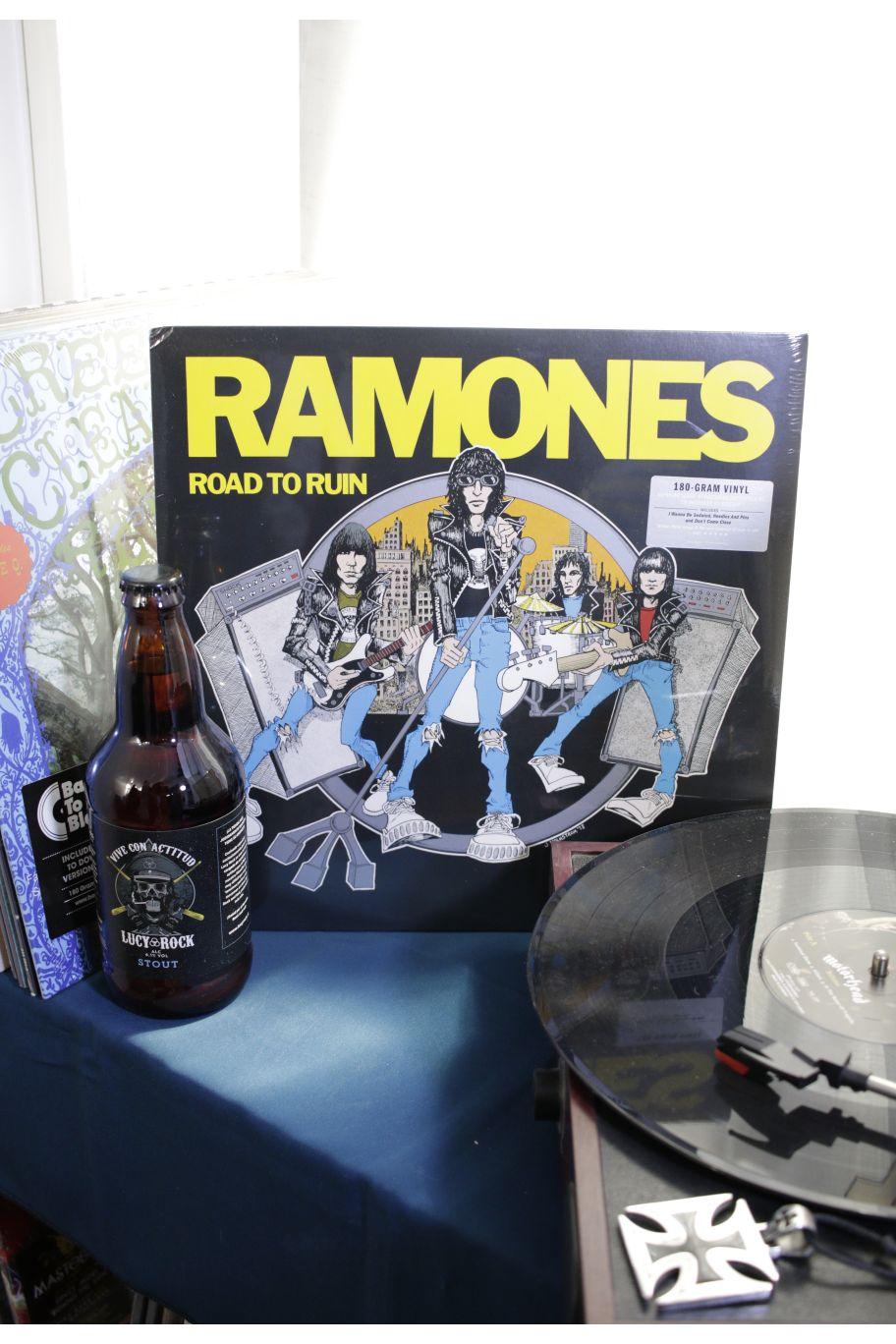 VINILO RAMONES ROAD TO RUIN