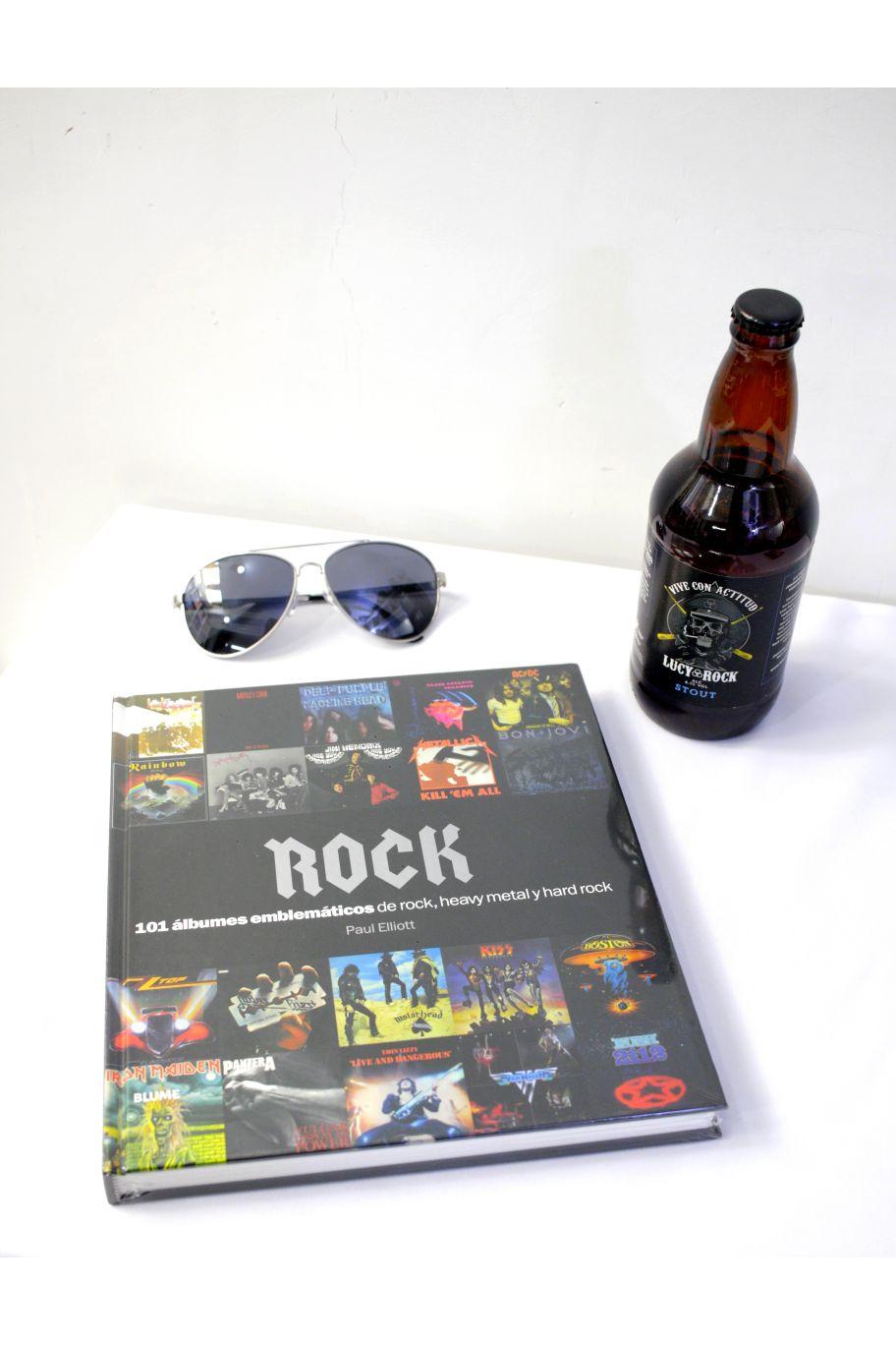 LIBRO ROCK 101 ALBUMES EMBLEMATICOS, ROCK, HEAVY METAL, HARD ROCK