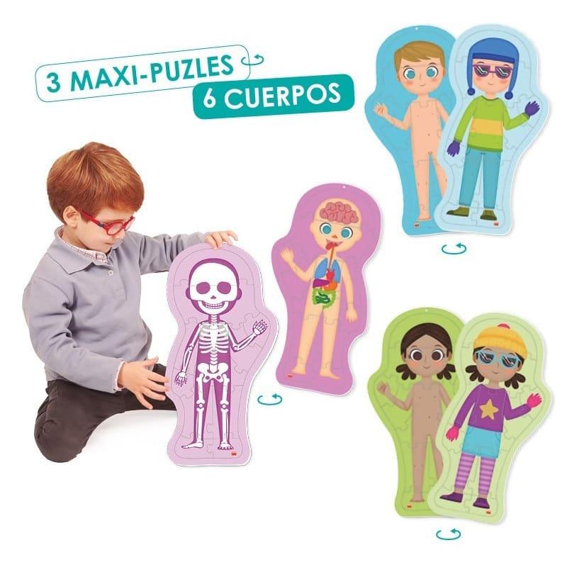 MAXI PUZLES EL CUERPO HUMANO