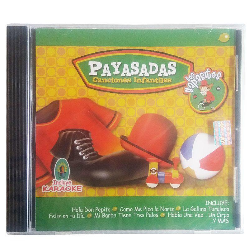 CD PAYASADAS, CANCIONES INFANTILES