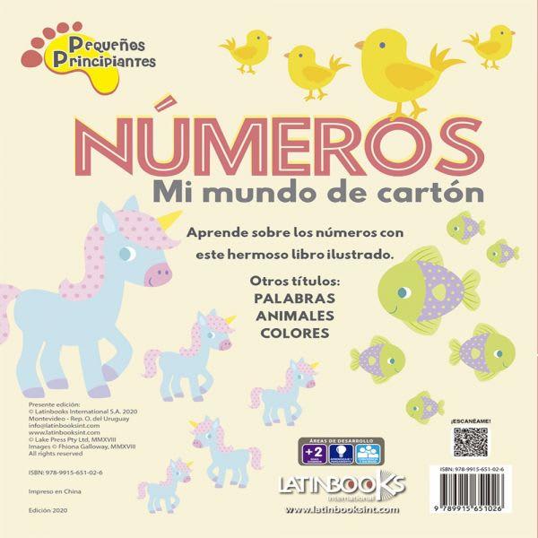 MI MUNDO DE CARTÓN - NÚMEROS