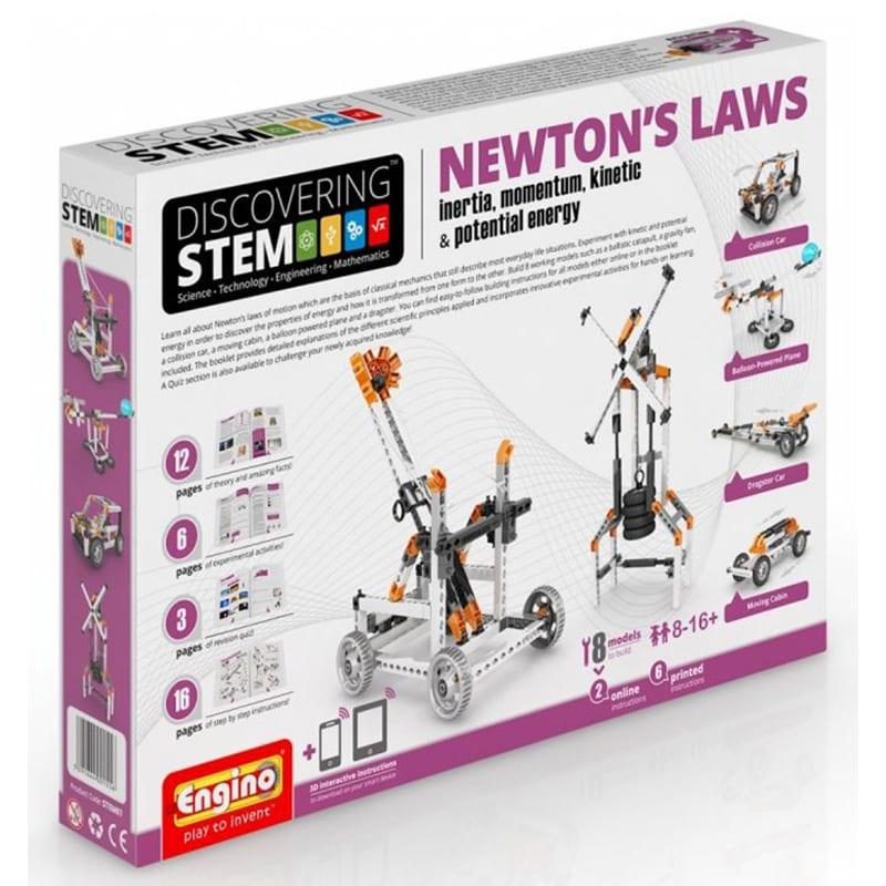 CONSTRUCCIÓN ENGINO STEM NEWTON'S LAWS