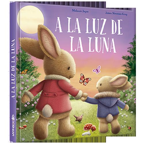 LUNA AZUL / SERIE TERNURA - A LA LUZ DE LA LUNA