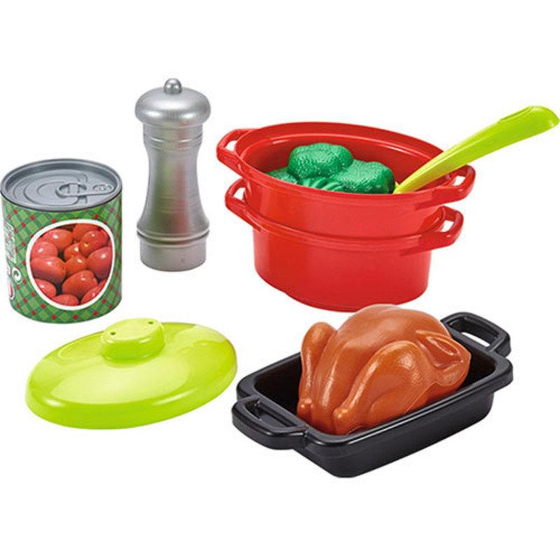 Cocina de sobremesa con 21 accesorios
