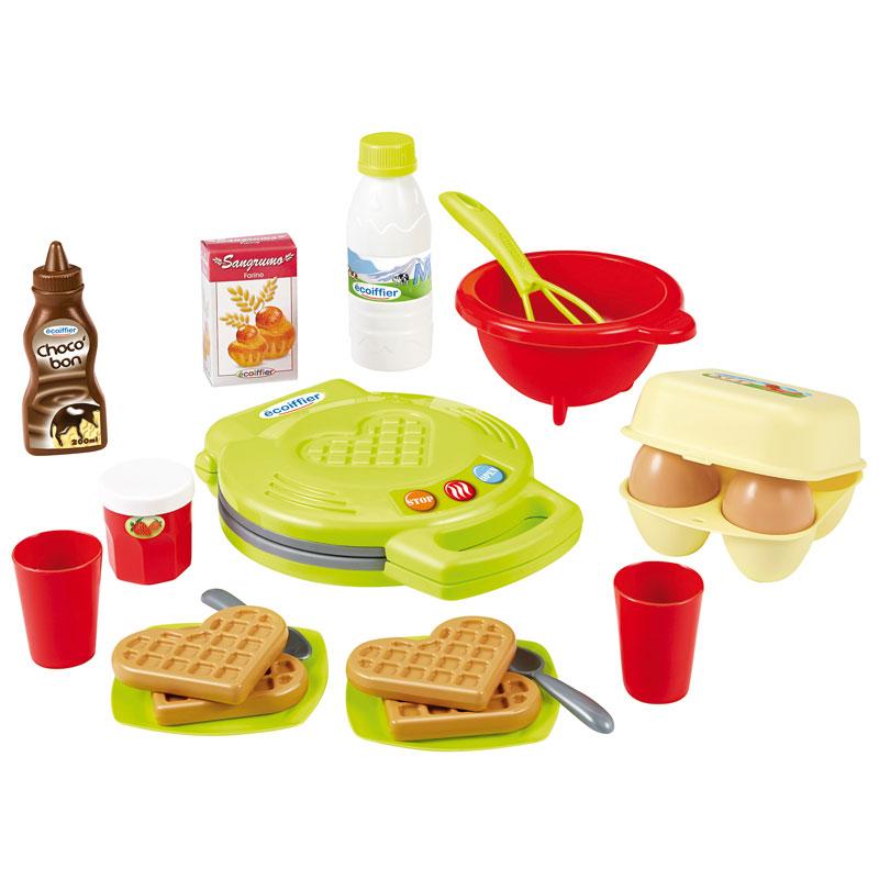Plancha de wafles con accesorios 22pz