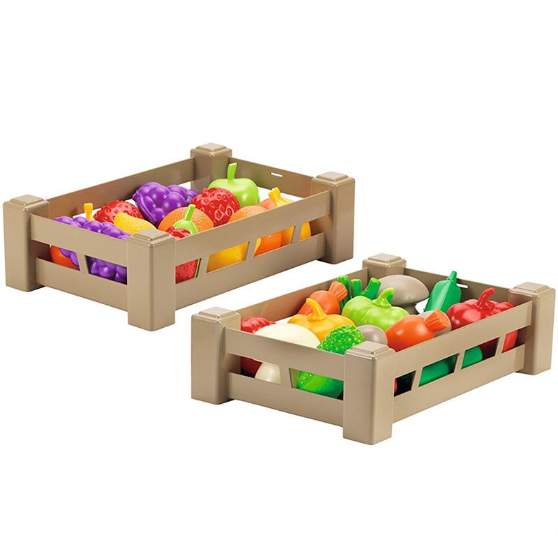 Cajas de frutas y verduras plásticas 32pz