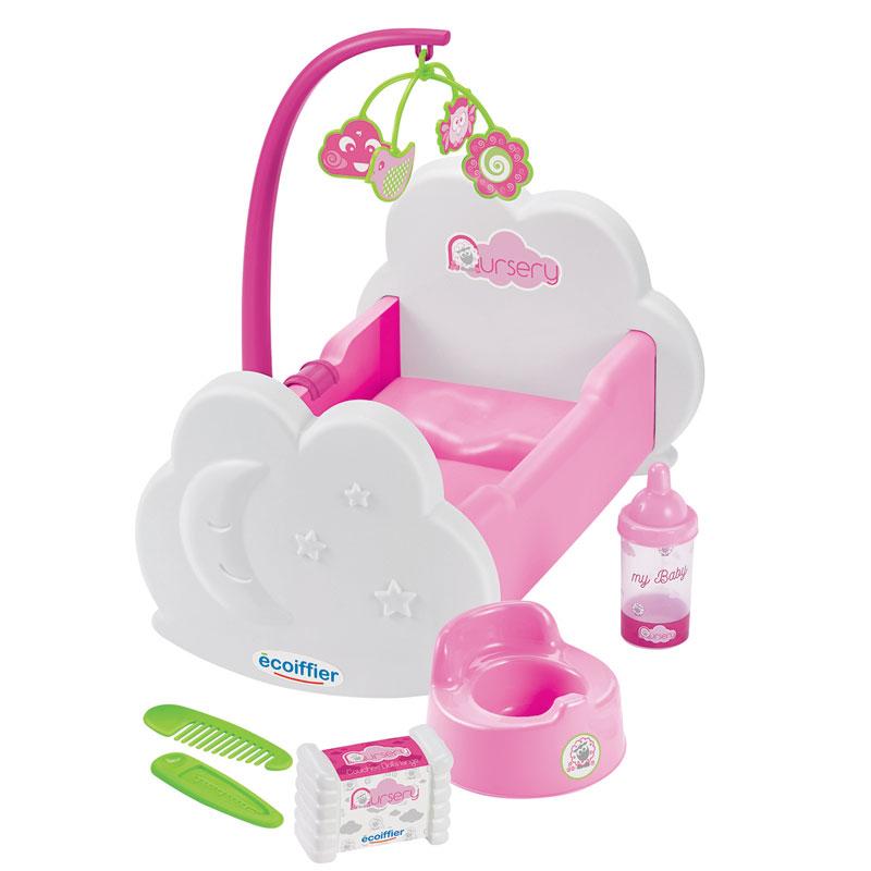 Nursery, Cuna mecedora con 6 accesorios