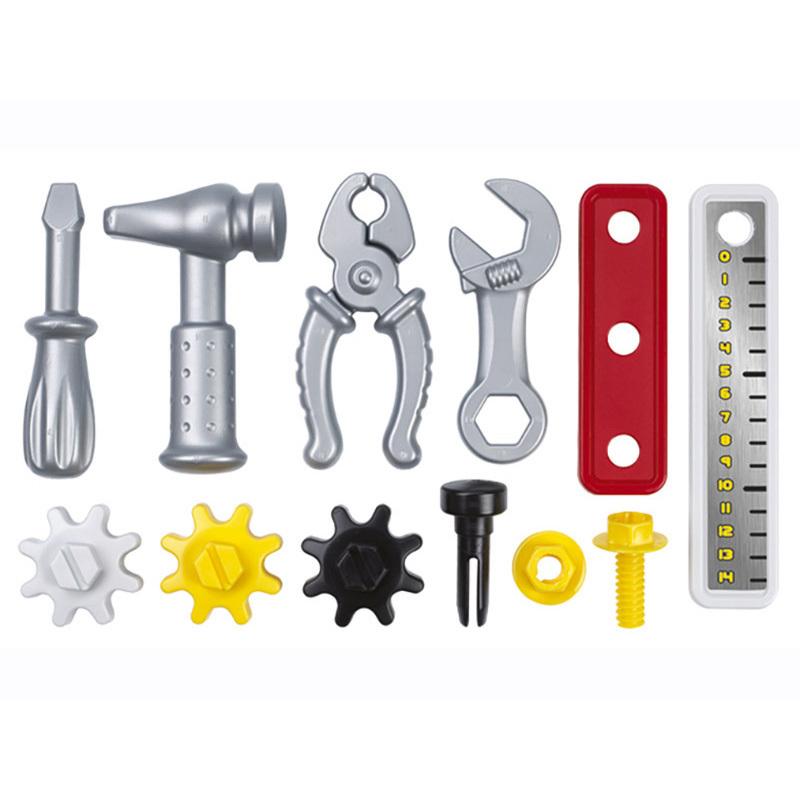 Banco mecánico de trabajo con 19 accesorios