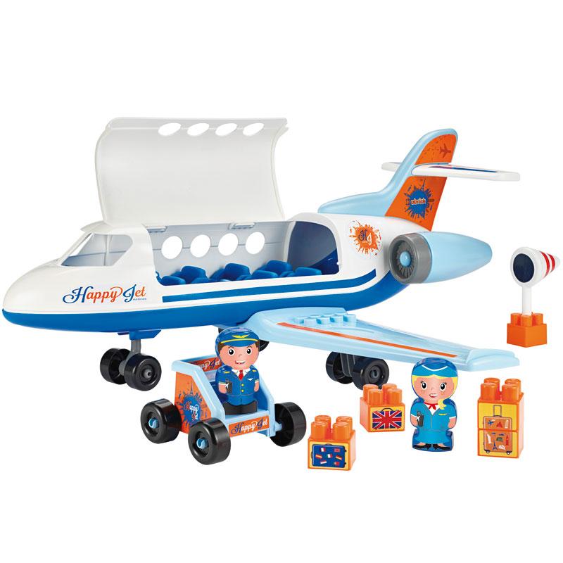 Abrick, Avión jet con accesorios 8pz