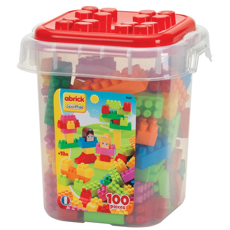 Abrick, Caja con 100 bloques tipo lego