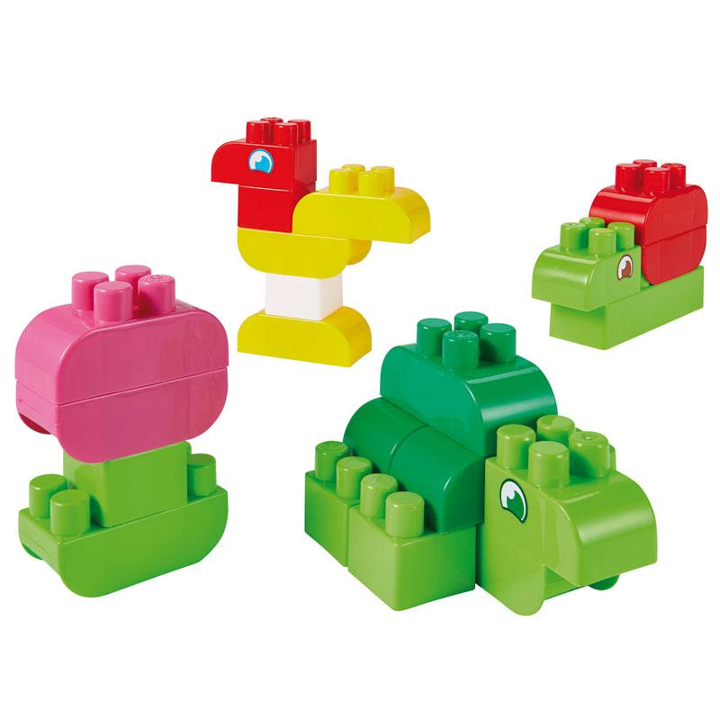 Abrick, Balde con 50 bloques tipo lego