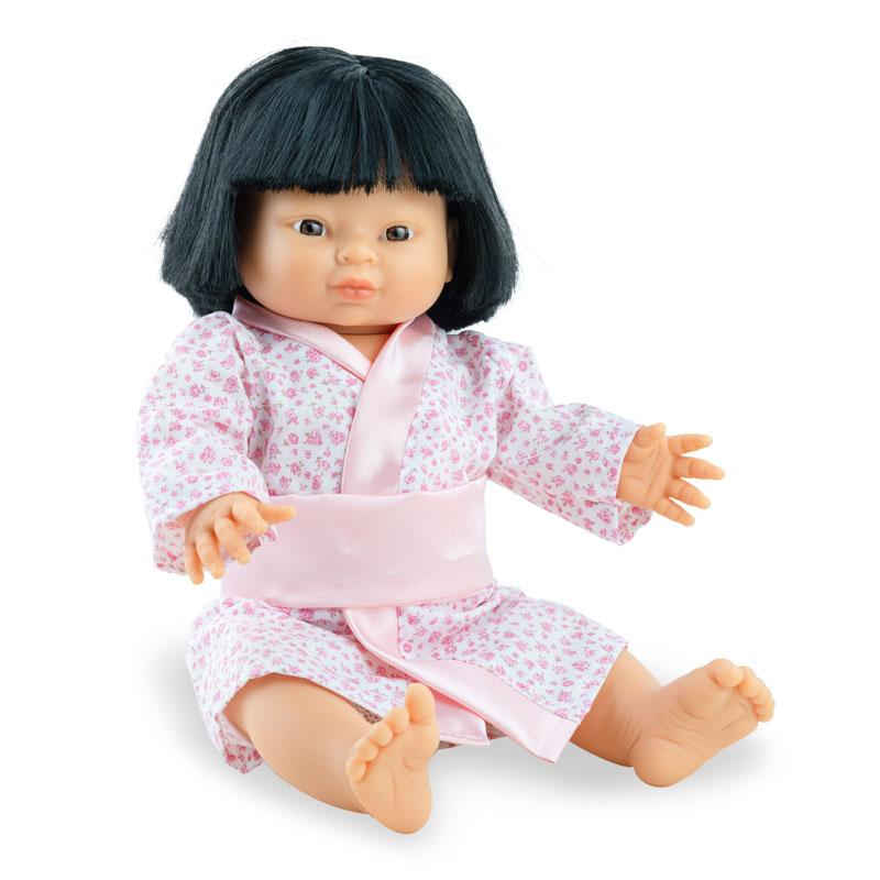 Play dolls niña asiática 38cm con ropa