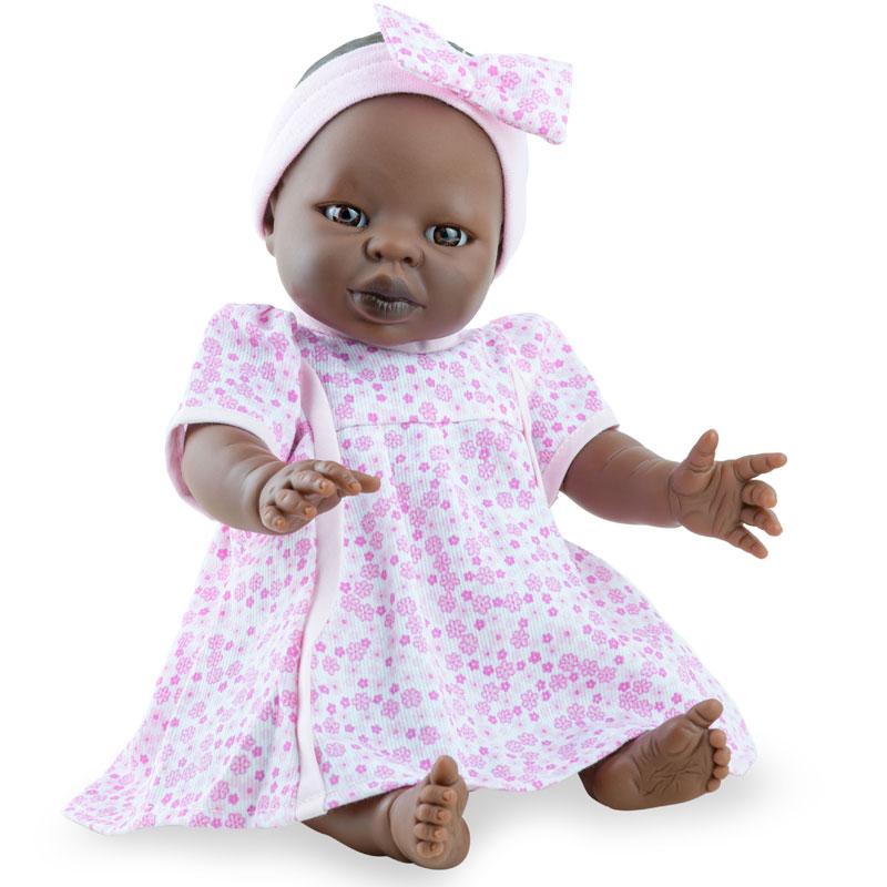 Tiny babies niña africana 34cm con ropa