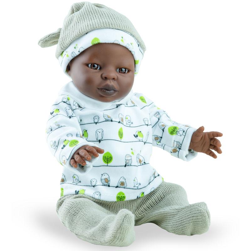 Tiny babies niño africano 34cm con ropa