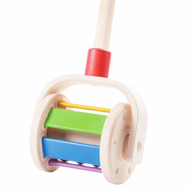 Colibrí de madera multicolor