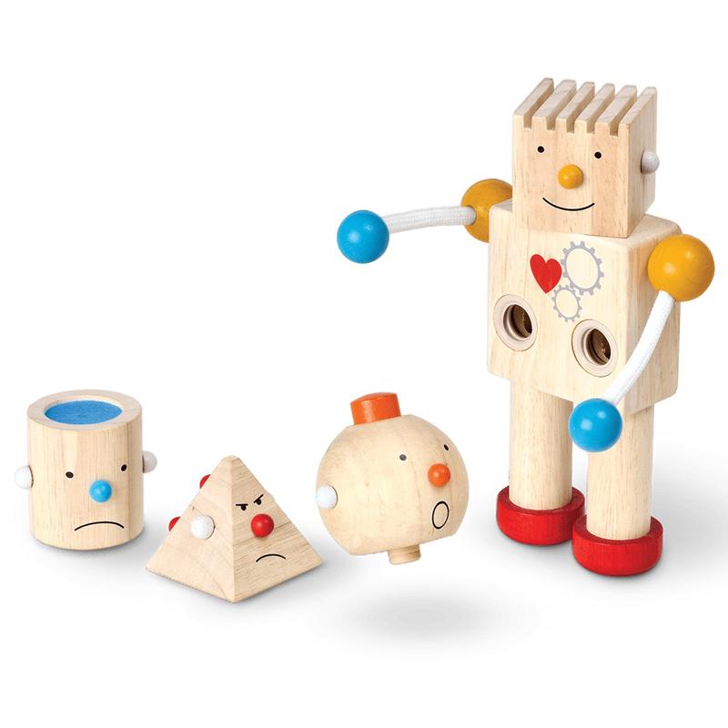 Construye tu robot Plantoys