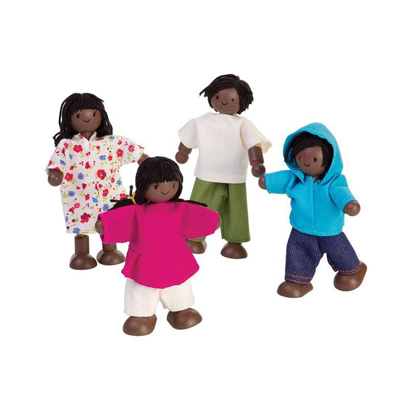 Familia afroamericana 4pz