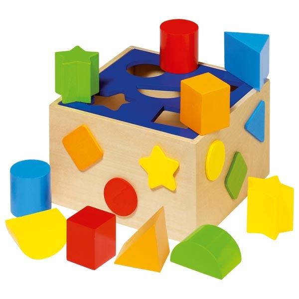 Caja de encaje color y forma