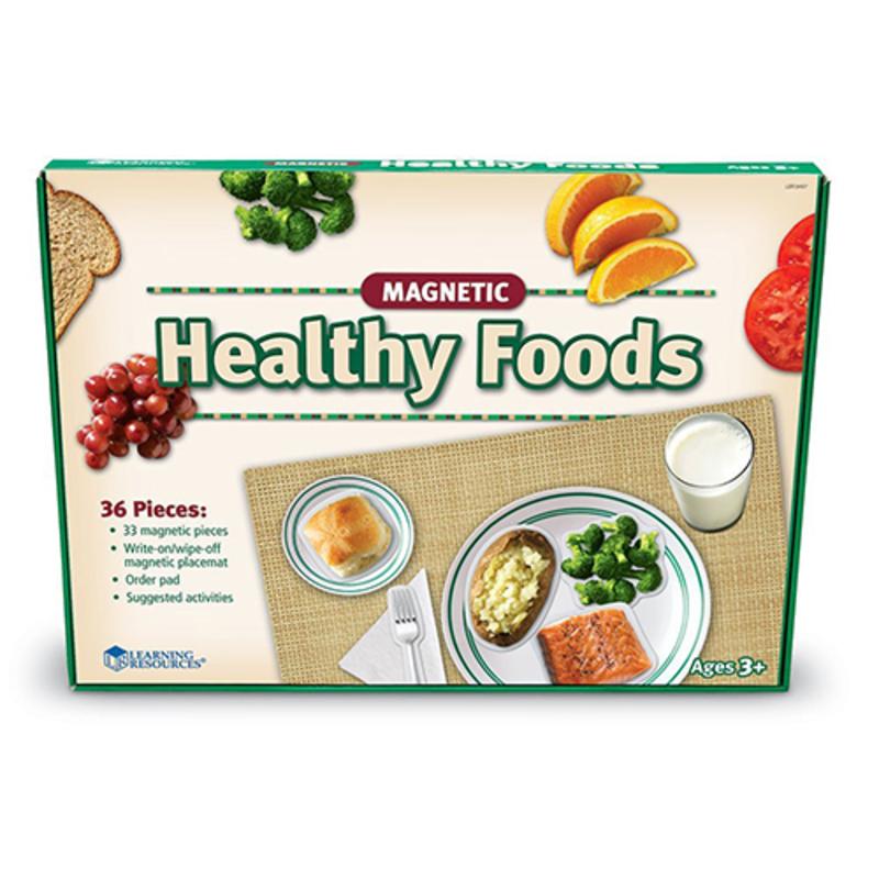 Panel magnético alimentos sanos