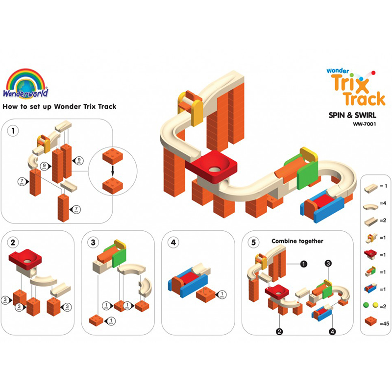 TRIX TRACK SAFARI WW-7007