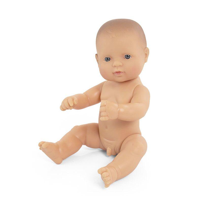 Bebé europeo niño de 32cm