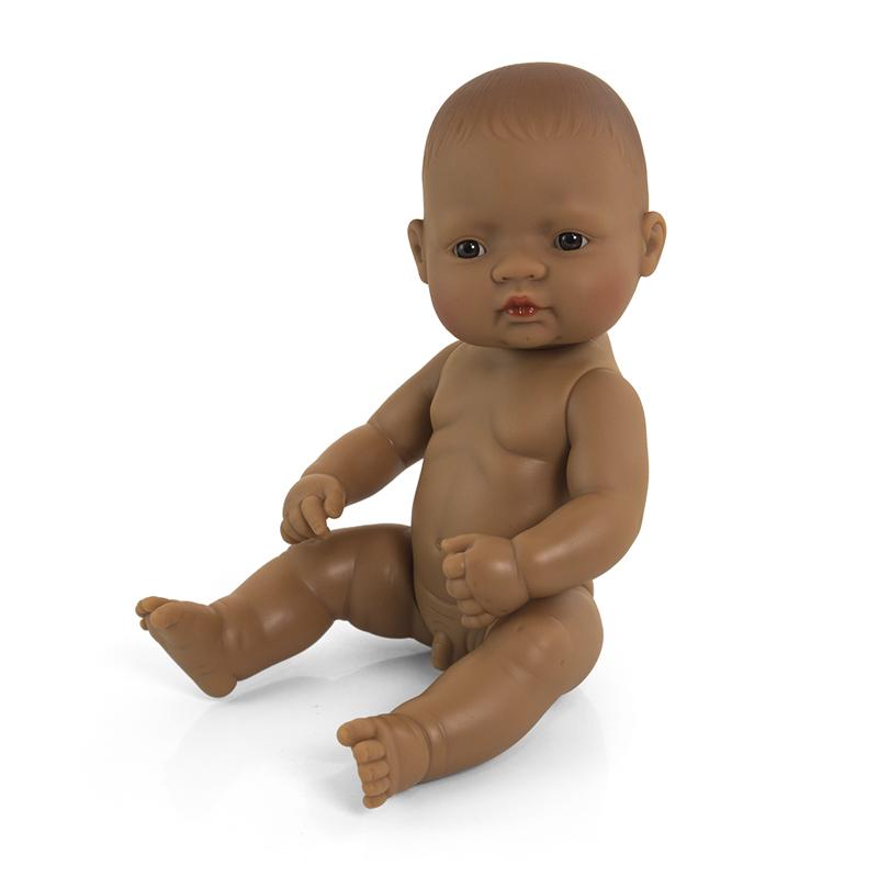 Bebé latino niño de 32cm